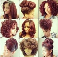 natural African American hair / pin ups / updos - Google Search