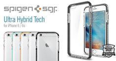 Spigen Ultra Hybrid Tech iPhone 6s/6 tok - Smart Clinic Clinic, Iphone 6