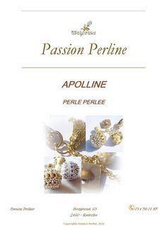 Schéma perle perlée APOLLINE par PASSIONPERLINE sur Etsy https://www.etsy.com/fr/shop/PASSIONPERLINE?ref=hdr_shop_menu