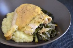 """Roast Chicken and """"Gravy"""" 