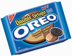 Oreo Double Delight PB& Choco Creme Oreo Flavors, Cookie Flavors, Junk Food Snacks, Easy Snacks, Oreos, Sonic Cake, Hershey Syrup, Double Delight, Chocolate Butter