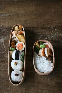 Japanese bento lunch // for bento inspiration // found at elle japan's blog