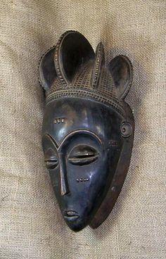 African Mask Baule