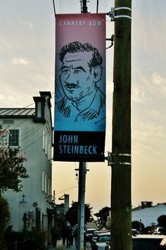 Cannery Row, Monterey, CA. John Steinbeck