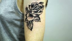 ryanjacobsmith:  Owen Jensen rose. Thanks Jennifer for getting tattooed ryan jacob smith portland, oregon