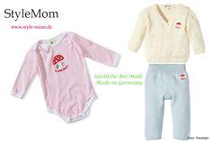 Bio-Kleidung für Babys Made in Germany by Adelheid