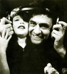 Johnny Cash & John Carter Cash