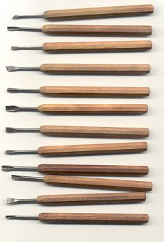 Japanese wood carving tools