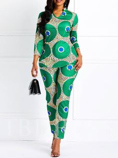 Belt Fashion Full Length Slim High Waist Jumpsuit Model: Slim Material: Polyester Thickness: Thin Length: Full Length Trousers Shape: Straight Waist Line: High Waist Elasticity: High Elasticity With Belt: No Pattern: Plain Embellishment: Latest African Fashion Dresses, African Dresses For Women, African Print Dresses, African Print Fashion, African Attire, African Clothes, African Suits, African Fashion Designers, African Women