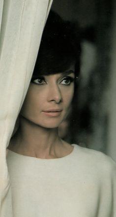 Audrey Hepburn, circa 1967.