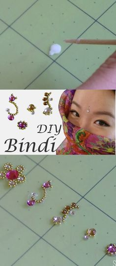 You can make your own bindi at home with stuff you already have!