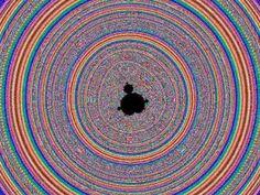 Flug in ein Mandelbrot-Fraktal. Die Berechnung dieses Zooms in HD dauerte knapp 5 Tage.