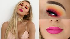 Colourful Full Glam Makeup Tutorial | SHANI GRIMMOND