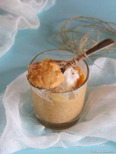 Dulce de leche rice pudding