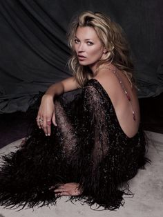 kate moss, Fred jewlery - f/w 2011 - photographed by: sonia sieff.