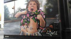 Chunk The Goonies street art camden