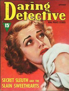 Daring Detective - September, 1939