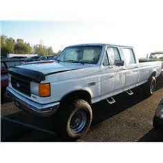 Category: Crew Cab Make: Ford Model: F-350 Super Duty Color: Year: 1988 VIN#: 2FTJW36H1JCA80548 License Plate:  Title: Will Update Monday Night Mileage: 0 Condition: Runs With Problems & Non Runners