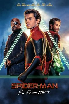 Spider-Man: Far from Home, Peter Parker and his friends go on a summer trip to Europe. However, they will hardly be able to rest - Peter will have to agree to help Nick Fury. Maria Hill, Remy Hii, Jake Gyllenhaal, Tom Holland, Home Movies, New Movies, Movies Online, Scary Movies, Series Movies