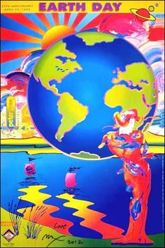 Peter Max + Earth Day = Possibilities