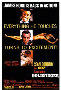 Goldfinger (1964): Investigating a gold magnate's smuggling, James Bond uncovers a plot to contaminate the Fort Knox gold reserve. Playing at SGPL on July 4, 2013 at 6:00 PM.
