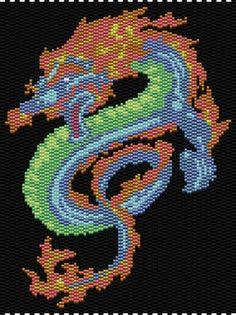 Fire Dragon Pattern