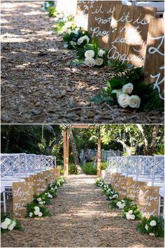 1 Corinthians 13 wedding decor (available at http://www.myonlineweddinghelp.com/products/product-category/wedding-decor/wedding-aisle-decoration/ )