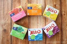 Create this rainbow jello recipe in under an hour. Perfect for St. Patrick's Day or a rainbow party. Rainbow Jello Shots, Jello Gelatin, Rainbow Parties, Jello Recipes, Crafty, Desserts, How To Make, Presentation, Party Ideas