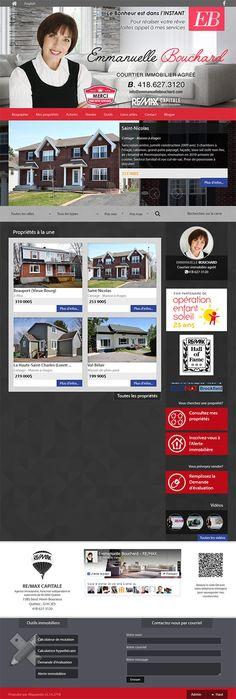 Emmannuelle Bouchard - courtier immobilier agréé #REMAX #Aliquando #immobilier #vendre #acheter #maison #habitation #web #design #webdesign http://emmanuellebouchard.com/