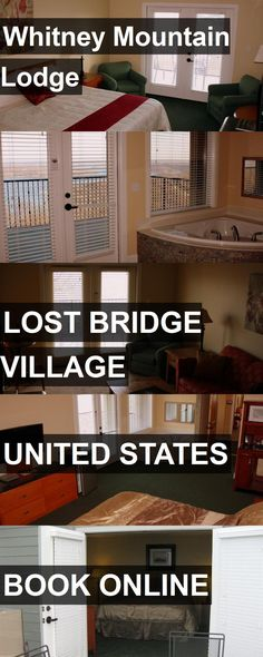 Hotel Whitney Mountain Lodge in Lost Bridge Village, United States. For more information, photos, reviews and best prices please follow the link. #UnitedStates #LostBridgeVillage #travel #vacation #hotel