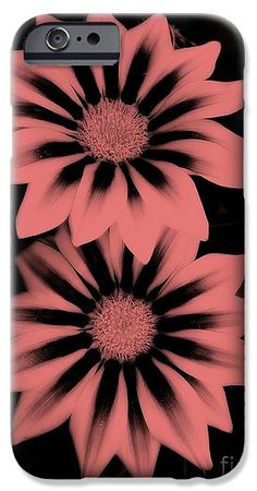 Gazania IPhone & Galaxy Phone Cases featuring the photograph Twins 3 by Erika H
