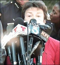 Awkward AP microphone: