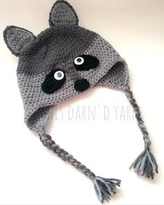 This ADORABLE raccoon hat is heading to BC tomorrow! Link to these cute hats in the bio gets yours today!  #thisdarndyarn #crochet #crochetraccoon #raccoon #raccoonhat #woodland #woodlandanimals #forest #forestanimals #foresttheme #kidsofinstagram #kids #crochetersofinstagram #makersgonnamake #makersofinstagram #momlife #girl #boy #girlsofig #boysofinstagram #etsy #etsylove #etsyshop #etsyseller #canadian #canadianmade #yyc #calgary #britishcolumbia #easbi by thisdarndyarn