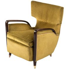 "Italian Fifties Model ""511"" Armchair by Melchiorre Bega for Cassina"