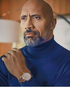 Dwayne 'The Rock' Johnson The Rock Dwayne Johnson, Rock Johnson, Dwayne The Rock, Shaved Head With Beard, Gorgeous Men, Beautiful People, Raining Men, Celebs, Celebrities