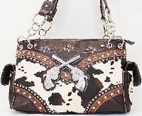 Cowgirl bling pistol purse