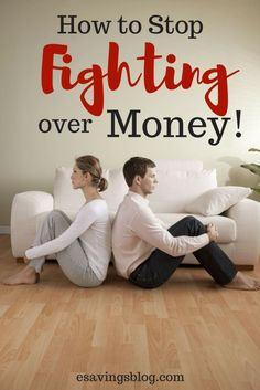 Fighting over money? Try these communication tips to stop arguing over money.