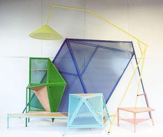 déco intérieur Pastel | Inspiration déco: géométrie et pastel