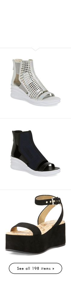 """"" by arriana735 ❤ liked on Polyvore featuring shoes, sandals, nude, rubber sole sandals, self tying shoes, nude sandals, roper shoes, leather lace up shoes, platform wedge shoes and platform wedge sandals"