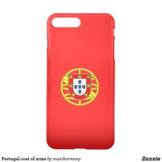 Portugal coat of arms iPhone 7 plus case