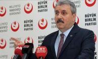 BBP Genel Başkanı Destici: Türkiye Cumhuriyeti PYD/YPG/PKK varlığına müsaade edemez
