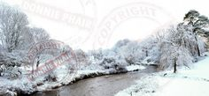 The Colebrooke River Snow Scene. Colebrooke Estate in Winter. www.donniephair.com