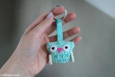 Hoot hoot! - Free keyring Crochet Pattern