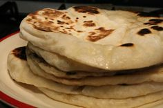 Naan kenyér - Nemzeti ételek, receptek Kefir, Naan, Wok, Pancakes, Sandwiches, Curry, Food And Drink, Snacks, Baking