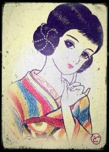 ラヂオ巻き。大正時代~昭和