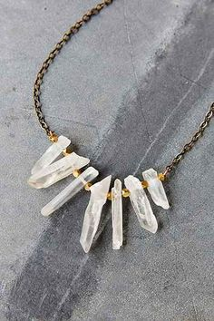 Local Branch Quartz Necklace - Urban Outfitters