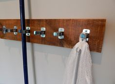 broom and mop storage - Google Search