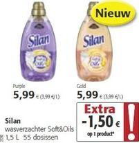 Silan wasverzachter soft+oils - Silan