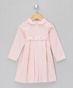 Pink Floral Dress - Infant, Toddler & Girls by Malvi & Co.