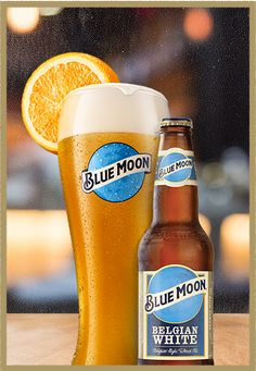 Blue Moon Brewing Company - Belgian White Belgian Style Wheat Ale